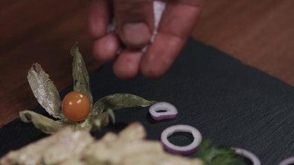 Rabbit with potato gnocchi