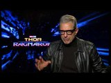 Jeff Goldblum Serenades Interviewer During Thor: Ragnarok Junket