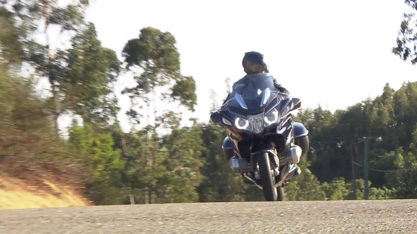 BMW R 1250 RT Country Road Riding Video