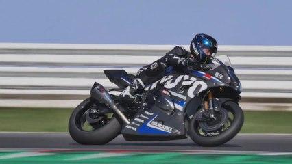 Suzuki RYUYO on the race track