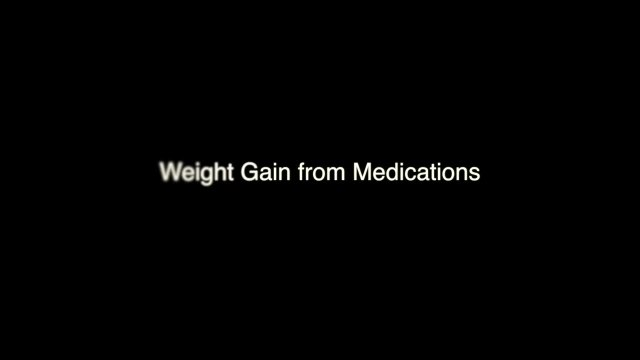 Weight Gain from Diabetes Medications