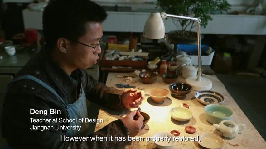The Chinese art of Jinshan: gold repair