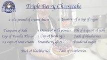 Triple Berry Chessecake