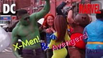 Marvel Versus DC Dance Off
