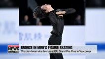 Cha Jun-hwan wins bronze at ISU Grand Prix Final in Vancouver
