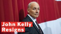 White House Chief Of Staff John Kelly Resigns