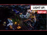 Britain's Most Festive Street - from the AIR! | SWNS TV