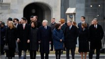 U.S. President George H.W. Bush Mourned In Family Service