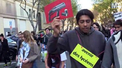 Marseille : jour de manifestation pour les lycéens