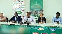 Sport: équestre conférence de presse avant grand prix Félix Houphouët-Boigny