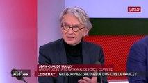 « On a un président qui a du retard à l'allumage à chaque fois » estime Jean-Claude Mailly