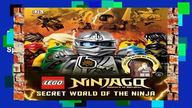 R.E.A.D Lego Ninjago: Secret World of the Ninja (Lego Ninjago: Masters of Spinjitzu) *Full Pages*