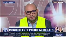 """Côme Dunis (gilet jaune de Montargis): """"Nous ferons une chaîne humaine à l'Arc de Triomphe en signe de protection des CRS"""""""