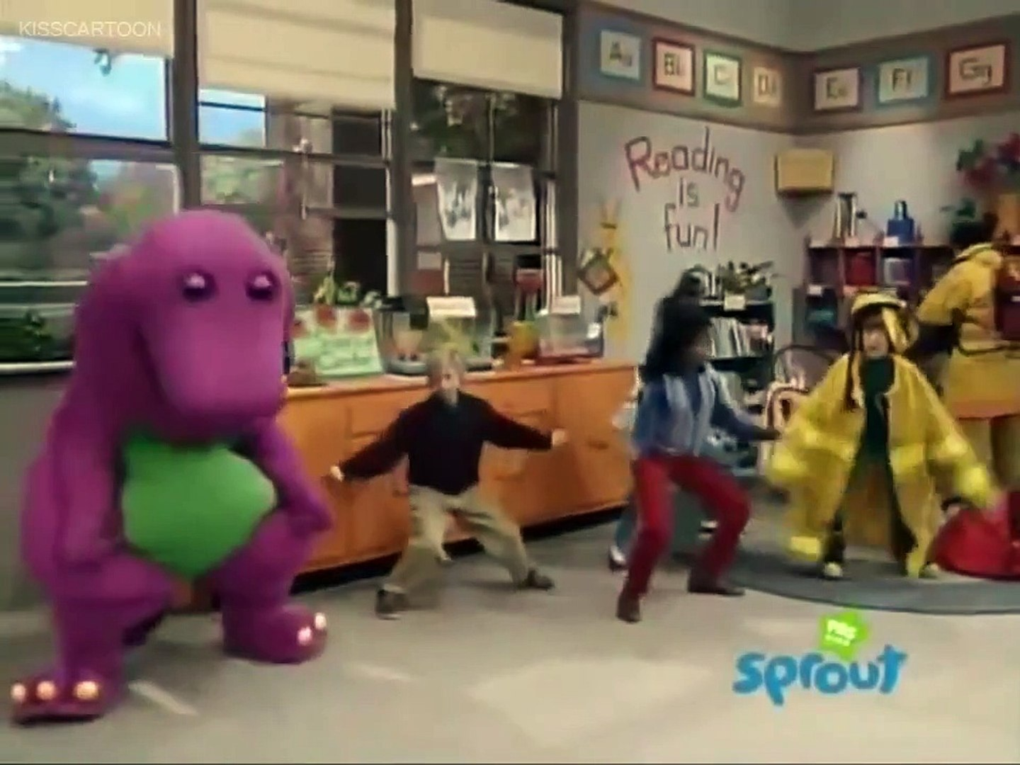 Barney and Friends - I Can Be A Firefighter!