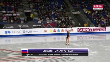 Elizaveta TUKTAMYSHEVA SP- 2018 GPF