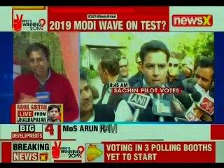 Battleground Rajasthan Assembly Elections 2018: Vasundhara Raje And Sachin Pilot Cast Their Vote