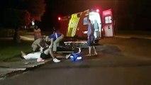 Forte batida entre carros deixa três feridos no Alto Alegre