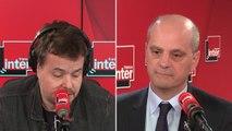 """Jean-Michel Blanquer : """"Il y a eu des images choquantes parce qu'on est dans un climat de violence exceptionnelle"""""""