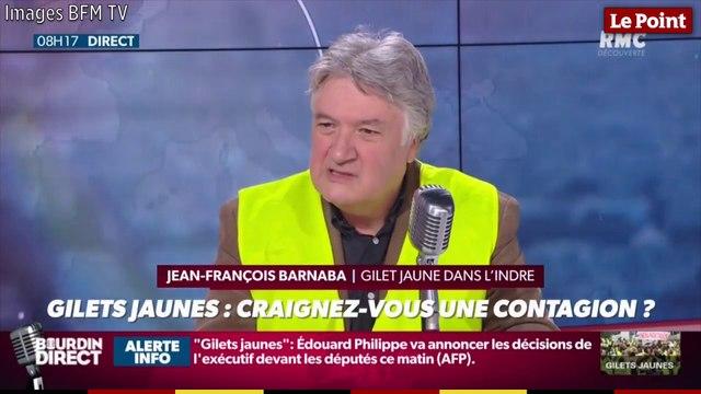 Gilets jaunes : Jean-François Barnaba, fonctionnaire sans activité