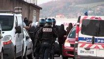 DES VIOLENCES PENDANT LA MANIFESTATION DE LYCEENS A ST-CHAMOND