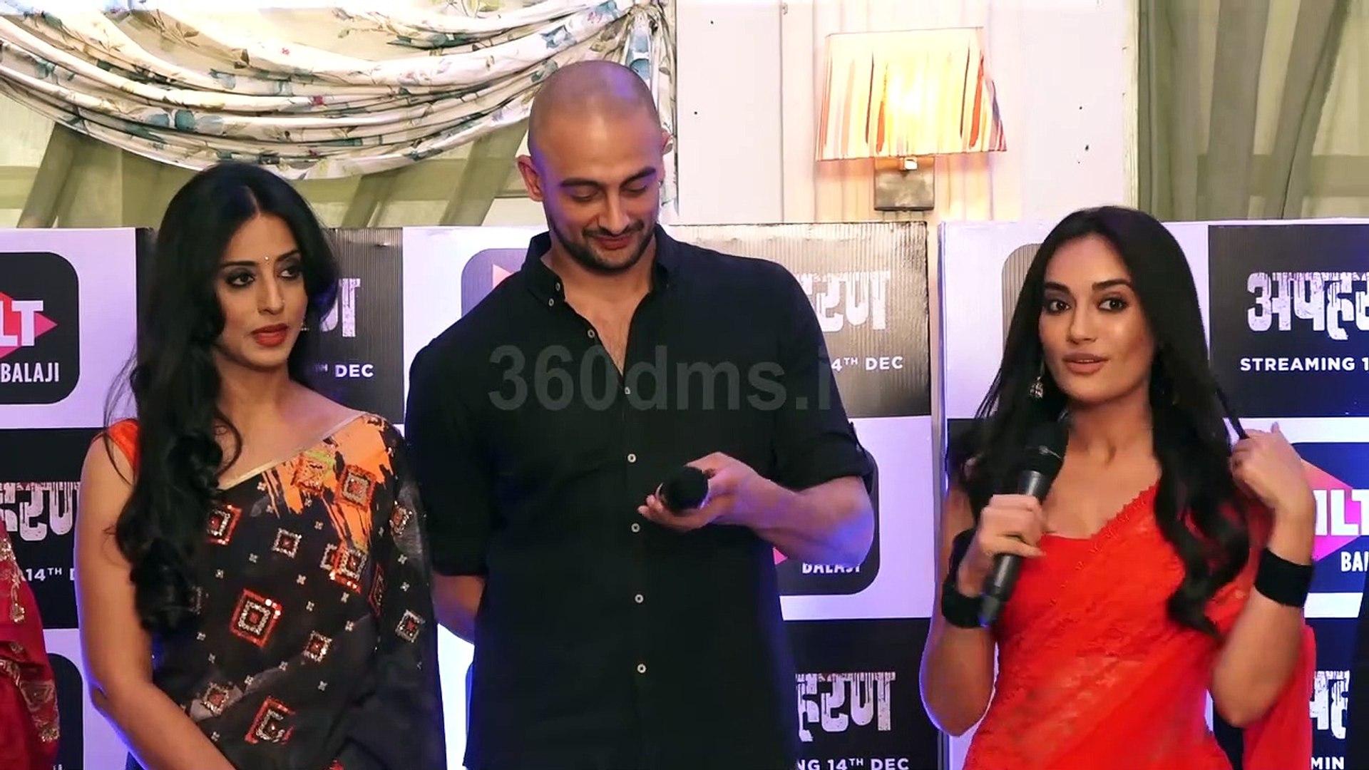 Surbhi Jyoti REVEALS Shocking Character of Arunoday Singh of Web Series  Apaharan