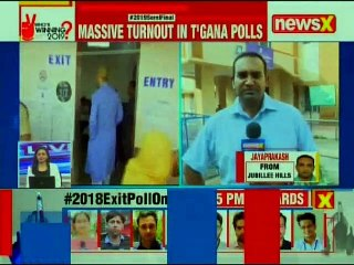 Telangana Elections 2018: Recorded 43.29% polling till 1 pm, likely to cross 75%