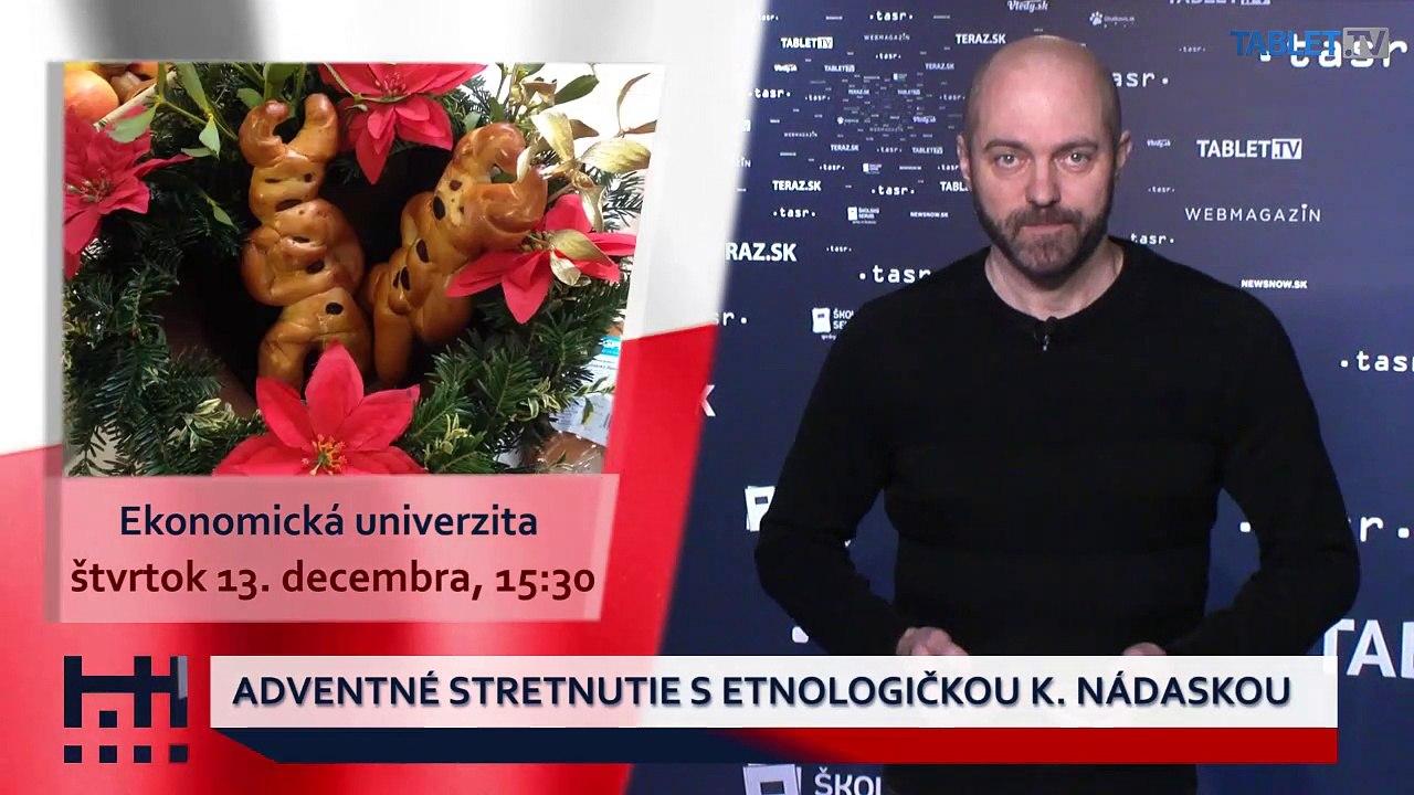 POĎ VON: Adventné stretnutie s etnologičkou K. Nádaskou