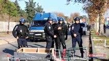 Affrontements devant le Lycée Robert Schuman à Avignon