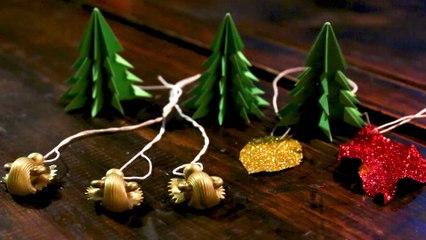 3 idées de décoration de Noël