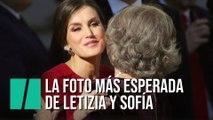 """El """"gesto significativo"""" de Letizia a la reina Sofía"""