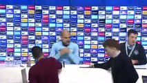 Manchester City look ahead to English Premier League match against Chelsea
