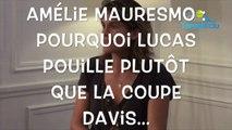 Le Mag Tennis Actu - Amelie Mauresmo s'explique sur son choix Lucas Pouille plutôt que la Coupe Davis
