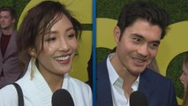 Constance Wu and Henry Golding Gush Over Each Other's Big Year (Exclusive)
