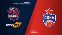 KIROLBET Baskonia Vitoria-Gasteiz - CSKA Moscow Highlights | Turkish Airlines EuroLeague RS Round 11
