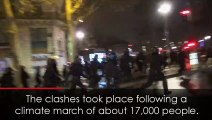 Police arrest hundreds as rioters loot shop in Paris