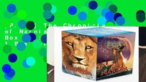 [P.D.F] The Chronicles of Narnia Movie Tie-In Box Set: 7 Books in 1 Box Set by C S Lewis