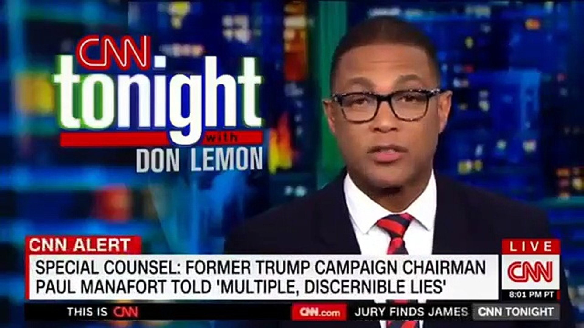 CNN Don Lemon UNVIELED Pleading guity Cohen and manafort Implicate TRUMP President !