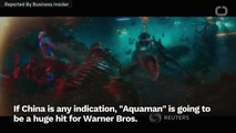 'Aquaman' Is Already Breaking Box-Office Records In China