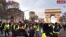 Gilets jaunes : le début des manifestations  à Paris le 8 décembre