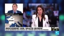 """Mouvement des """"Gilets Jaunes"""" : Benjamin Cauchy, fondateur des """"Gilets Jaunes Libres"""" sur FRANCE24"""