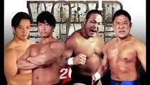 Ayato Yoshida & Shota Umino vs. Manabu Nakanishi & Yuji Nagata NJPW World Tag League 2018