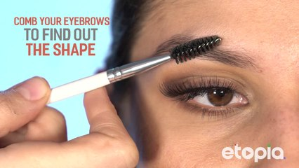 Make your eyebrows thicker