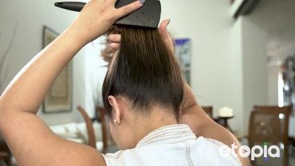 Um penteado maneiro para dar uma voltinha