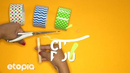 Pretty Popsicle Sticks Coasters