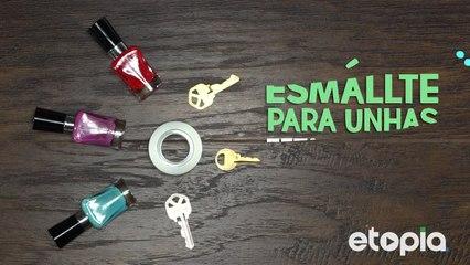 Identifique suas chaves de um jeito colorido.