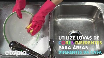 Dicas de limpeza inteligente