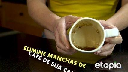 Café: uma deliciosa fonte de manchas