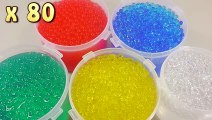 DIY Combine Colors Orbeez How To Make 'Magic Growing Water Balls' Learn Colors Orbeez