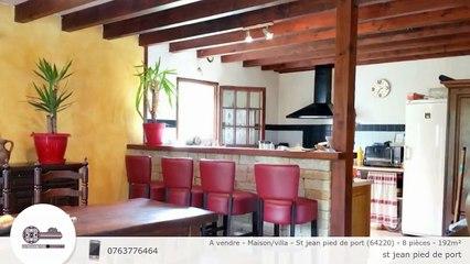 A vendre - Maison/villa - St jean pied de port (64220) - 8 pièces - 192m²