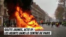 Gilets jaunes, acte IV : les images des heurts au centre de Paris